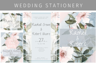 Clematis Wedding Stationery