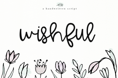 Wishful - A Bold Handwritten Font