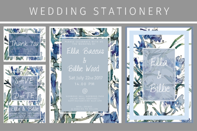 Iris Wedding Stationery