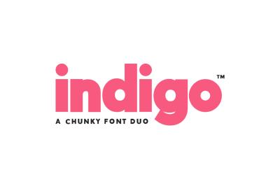Indigo Font Duo (2 Fonts)