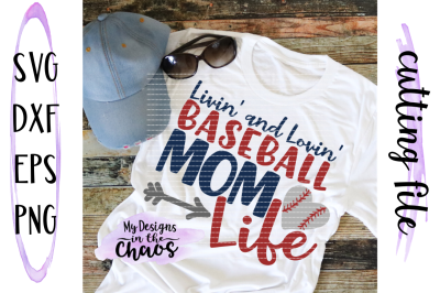 Baseball Mom SVG | Baseball SVG | Baseball Cutting File | Silhouette