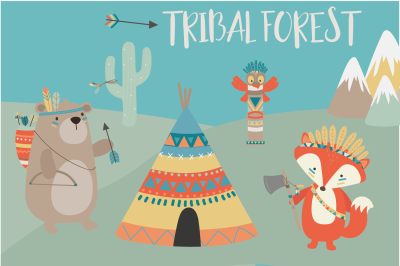 Tribal forest