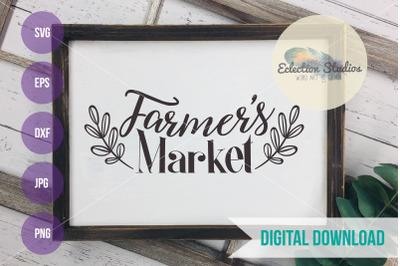 Farmer's Market SVG