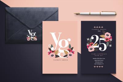 Caminito Floral Invitation