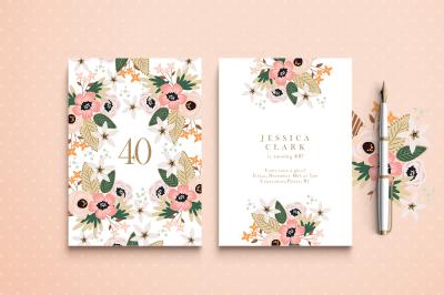Ipanema Birthday Invitation