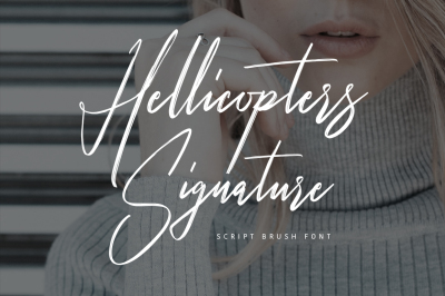 Hellicopters Typeface