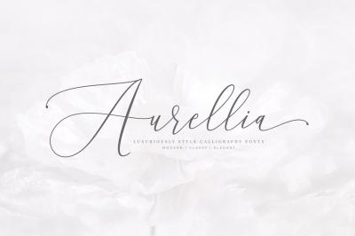 Aurellia Classy Fonts