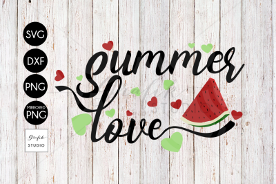 Summer Love SVG File, DXF File, PNG File