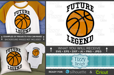 Future Basketball Legend SVG - Future Basketball Player Svg - 3026