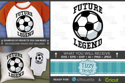 Future Soccer Legend SVG - Future Soccer Player Svg - Soccer 3027