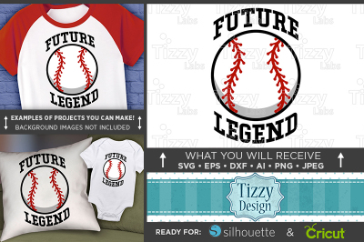 Future Baseball Legend SVG - Future Baseball Player Svg - 3028