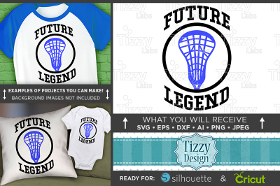 Future Lacrosse Legend SVG - Future Lacrosse Player Svg - 3030
