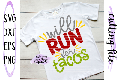 Taco svg | Fitness SVG | Work Out Cutting File | Silhouette | Cricut