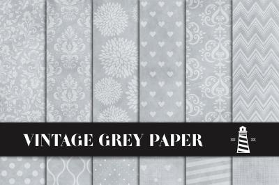 Vintage Gray Digital Paper