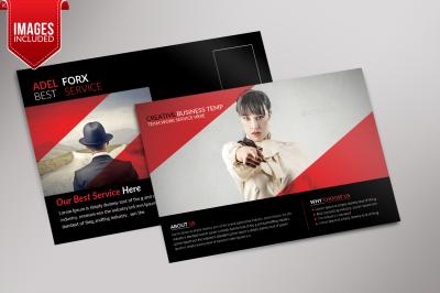 Creative Business PostCard Template