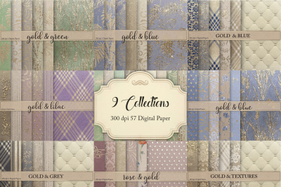 9 Collections 57 Digital Paper