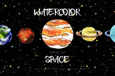 Watercolor, you are just space!