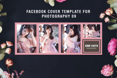 Facebook Cover Template for Fashion Photography 09