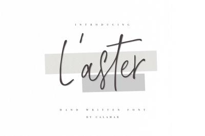 L'aster Font