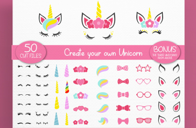 Unicorn On Crafters Category Thehungryjpeg Com