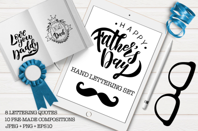 Father's Day Hand Lettering Set