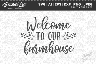 Welcome to our Farmhouse SVG Cut Files