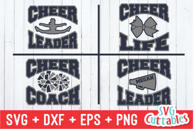 Cheer / cheerleader / cheer coach svg cut files