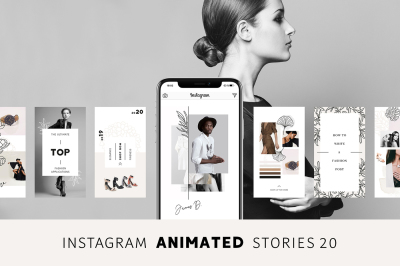 ANIMATED Instagram Stories – Pure