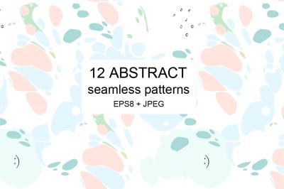 Art seamless patterns