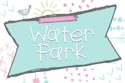 Water Park - A Cute Handwritten Font