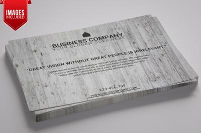 Business Flyer Template Landscape