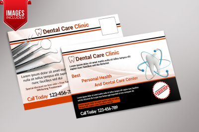 Dental Care Clinic PostCard
