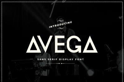 Avega Font | Sans Serif Display Font