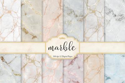 Marble & Digital Paper