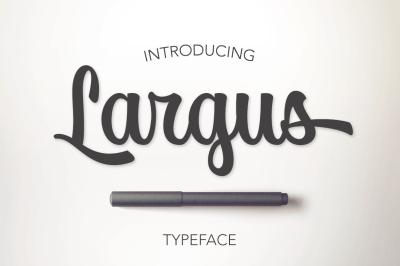 Largus Typeface