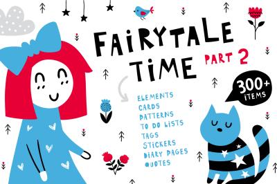 Fairytale Time Clipart Set - Part 2