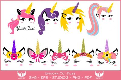 unicorn clipart svg cut files