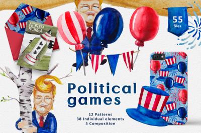 Political games collection