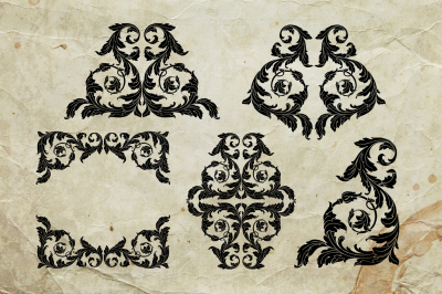Vector Ornament elements for decorate