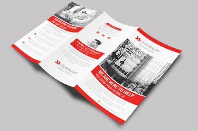 corporate new trifold