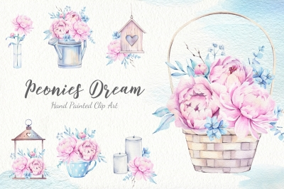 Penies Dream Watercolor Set