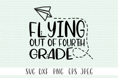 Flying Out Of Fourth Grade