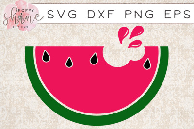 Watermelon SVG PNG EPS DXF Cutting Files