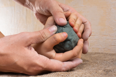 working with raw clay