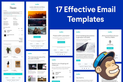 17 Responsive HTML Email Templates
