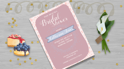 Bridal Shower Point template