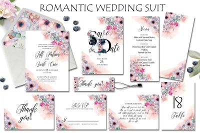 Romantic Wedding Suit