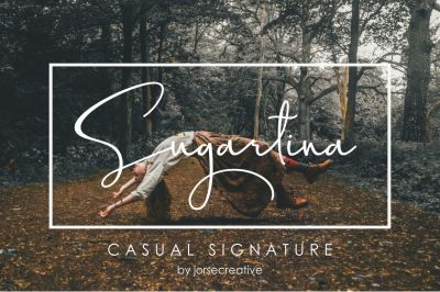 Sugartina Signature Font