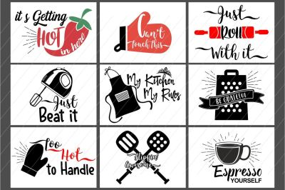 kitchen svg, kitchen bundle, kitchen clipart