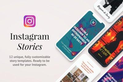 Legend: 12 Instagram Story Templates